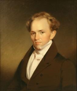 Lot 158: Portrait of a 19th c. Gentleman