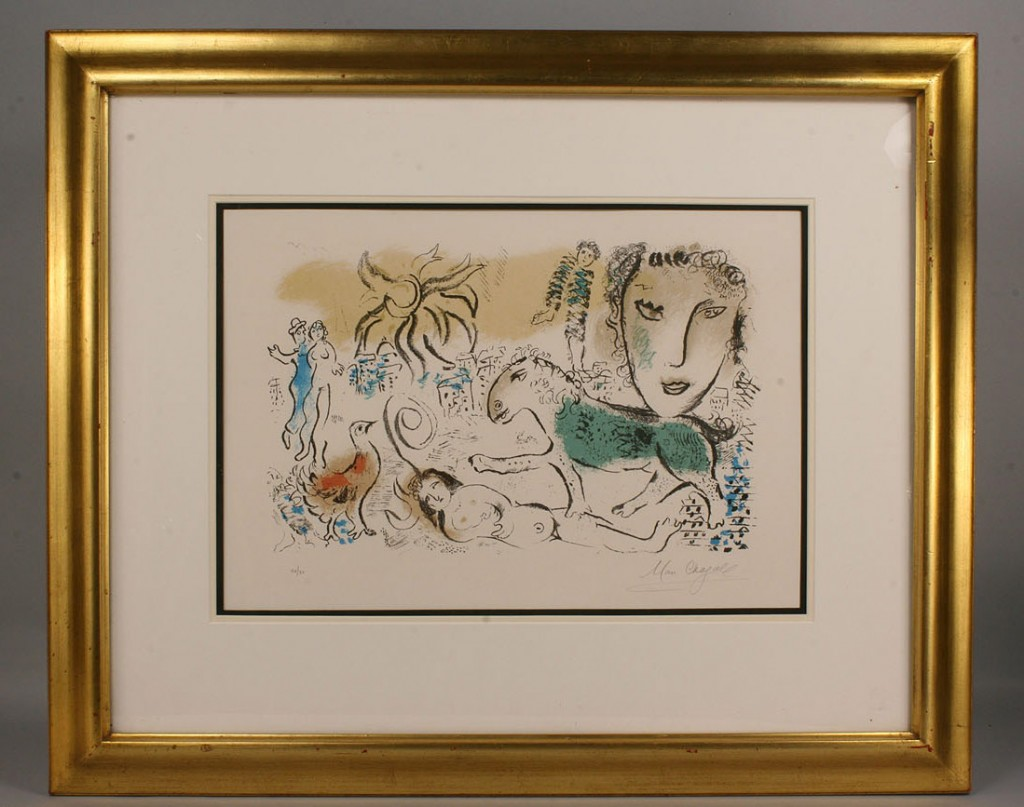 Lot 162: Marc Chagall Monumental
