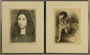 167: Raphael Soyer, lot of 2 lithographs