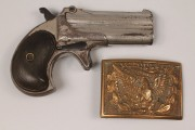 16: Remington Double Barrel Derringer model 3 plus Eagl