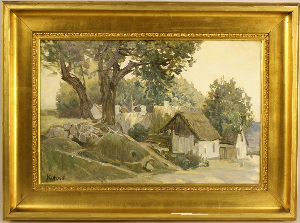 Lot 177: Hans Koefoed, Danish Landscape
