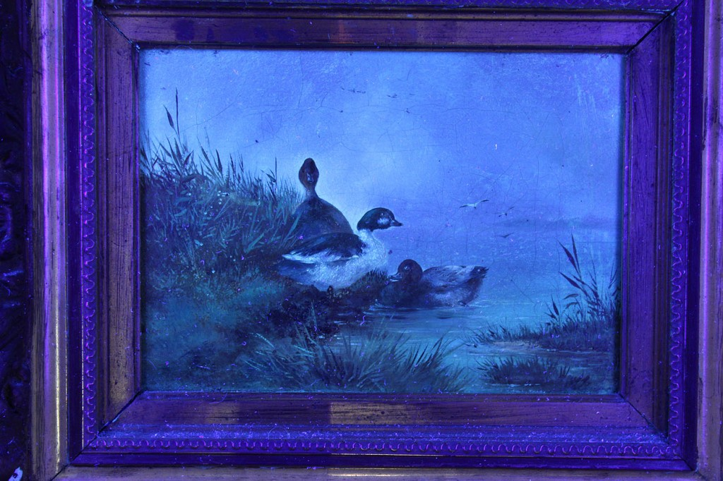 Lot 179: Landscape with ducks, attr. August Knip