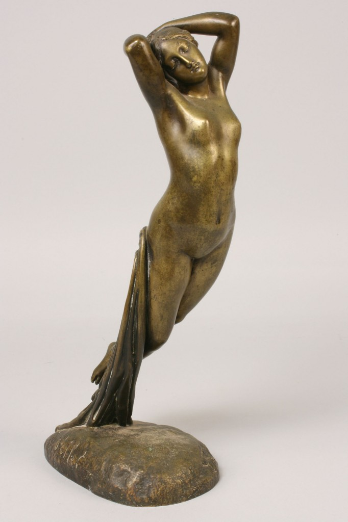 Lot 180: French Bronze Nude by Pollet