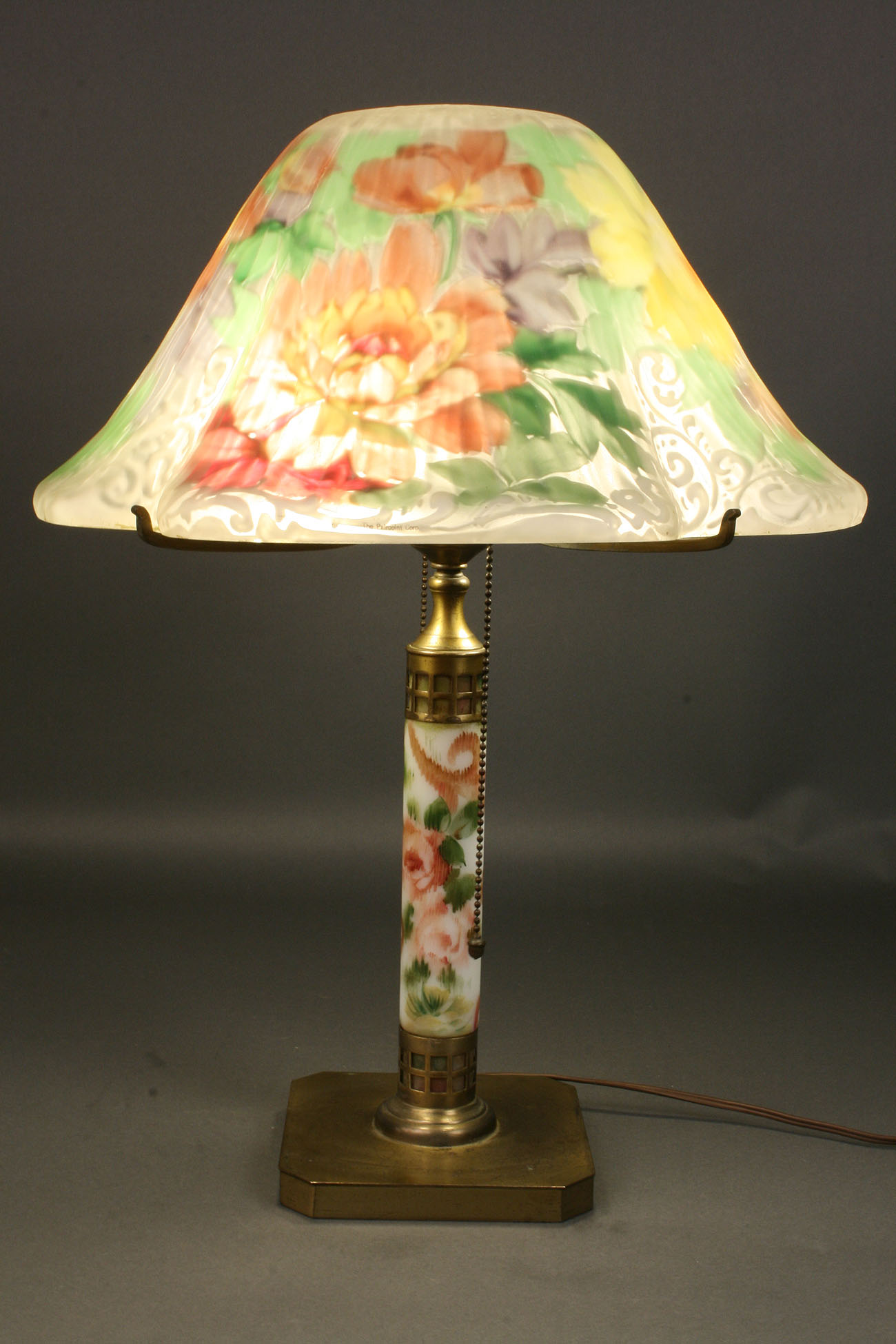 Lot 187 Pairpoint Puffy Lamp