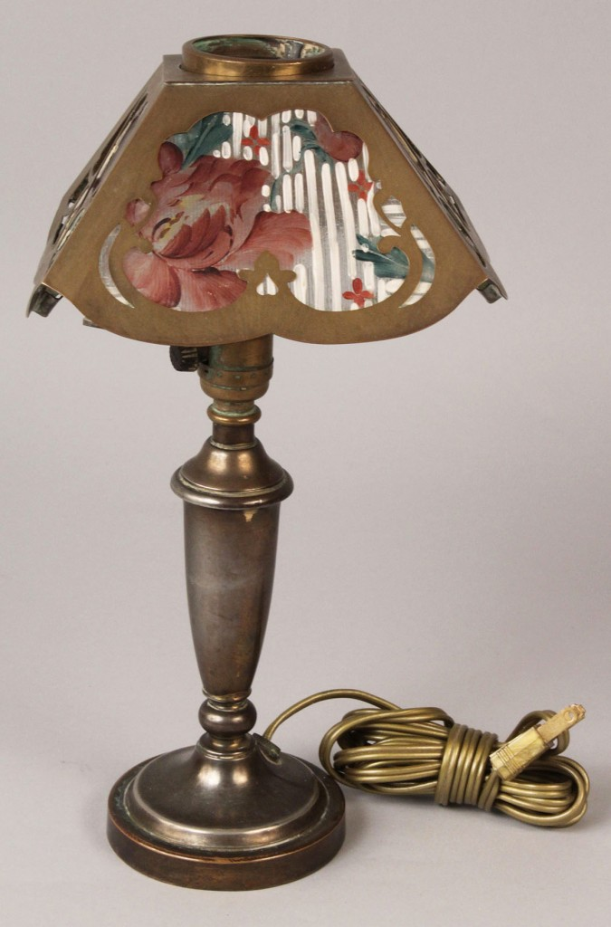 Lot 190: Boudoir Table Lamp, possibly Pairpoint