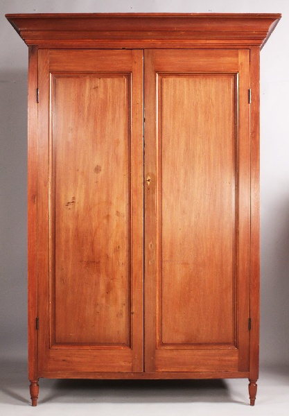 Lot 206: Middle Tennessee Wardrobe, circa 1830