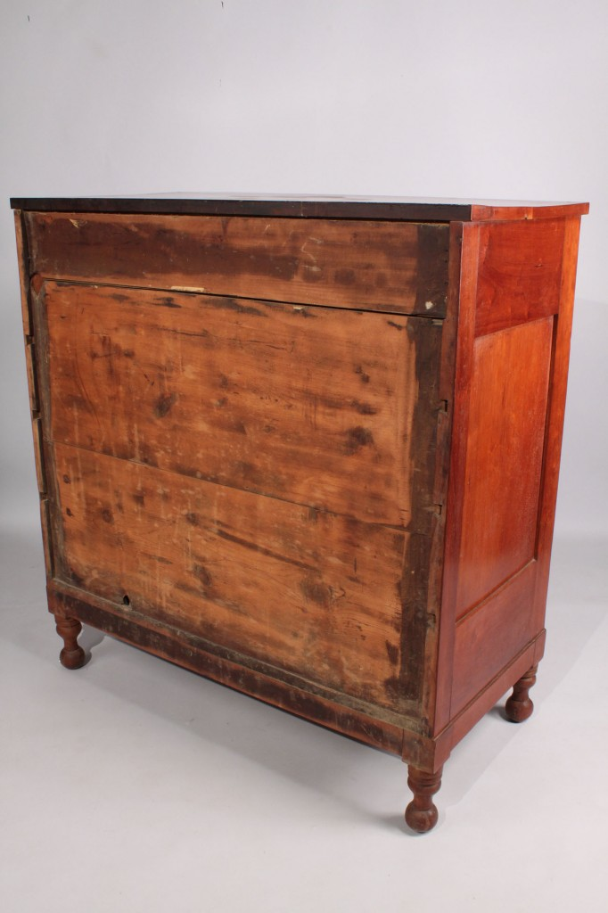 Lot 208: Cherry Chest of Drawers c. 1840