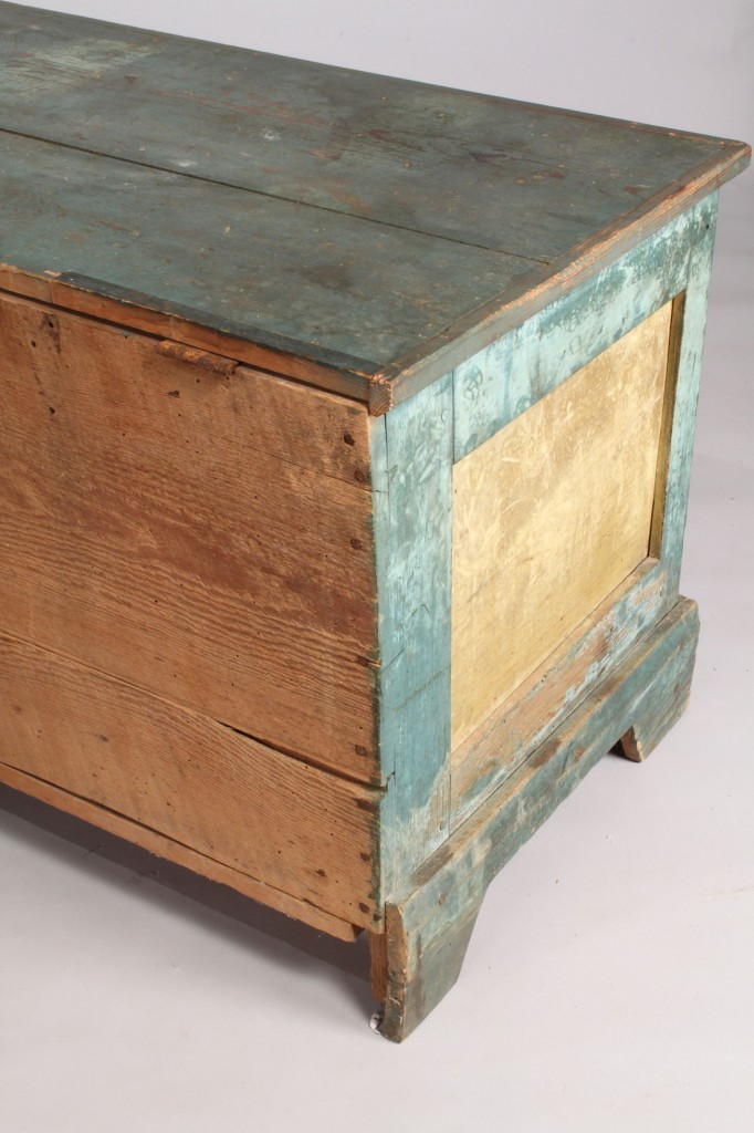 Lot 211: Southern Painted Blanket chest