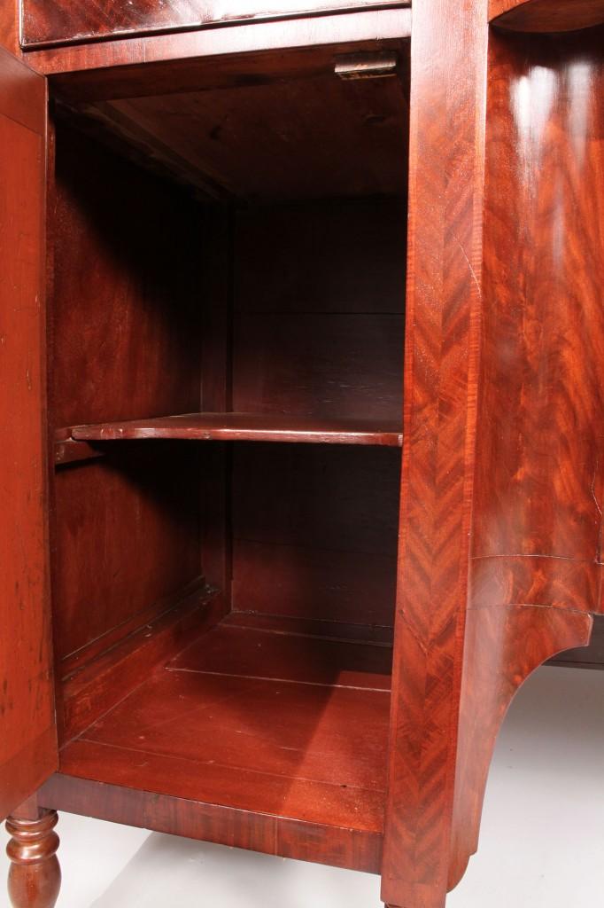 Lot 213: American Sheraton Sideboard