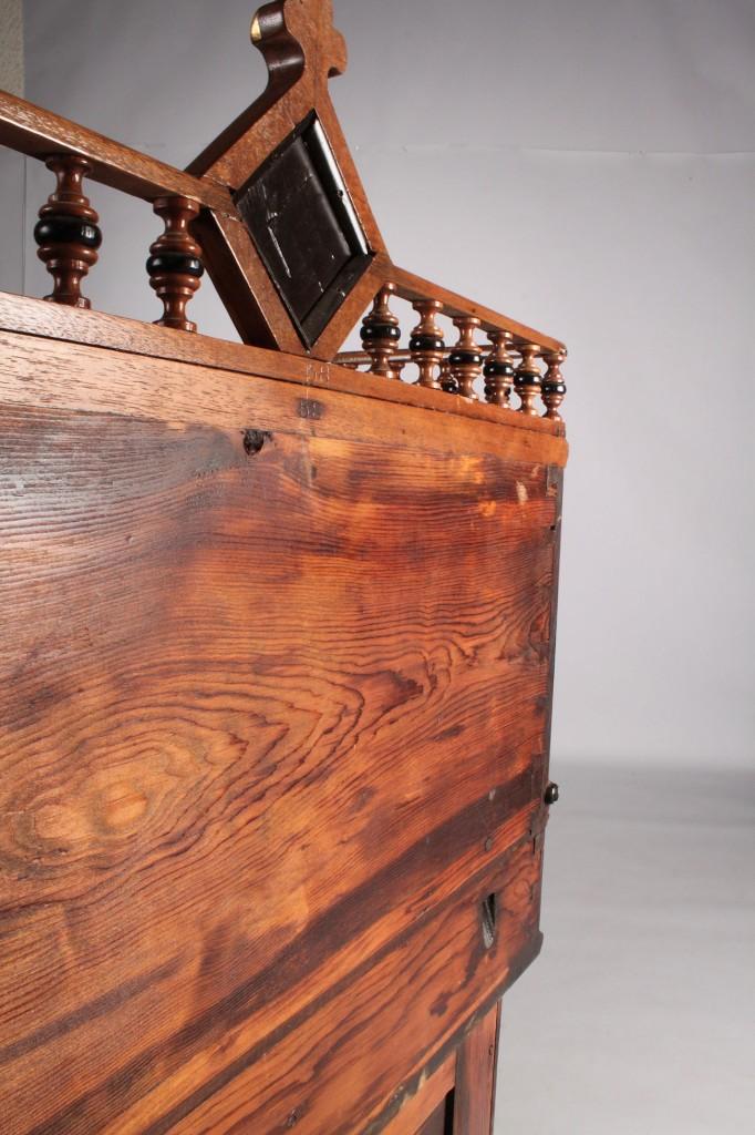 Lot 219: Aesthetic Movement Davenport Desk