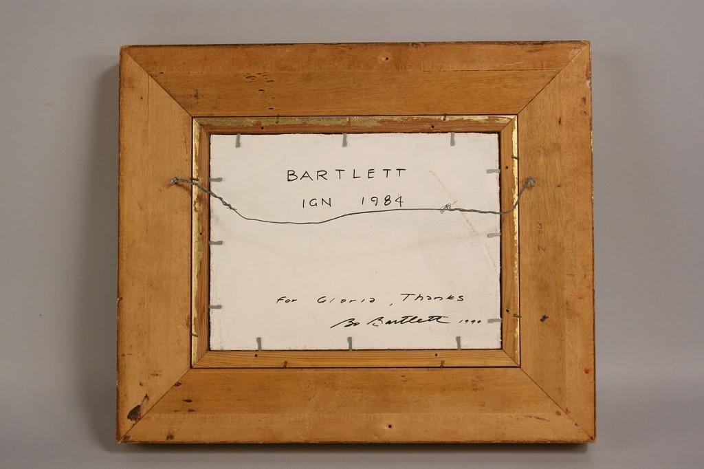 Lot 21: Bo Bartlett, Oil on Board, Girls by a Pool