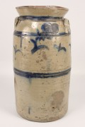 230: E. TN Stoneware Churn, Cobalt Decoration, poss. G