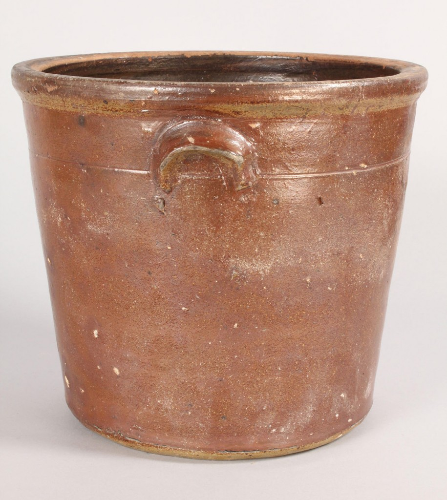 Lot 233: Middle TN Stoneware Pottery, 3 items