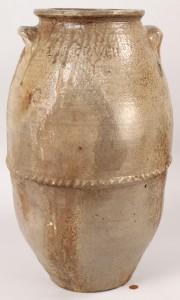 Lot 234: T.W. Craven Pottery Jar, West TN