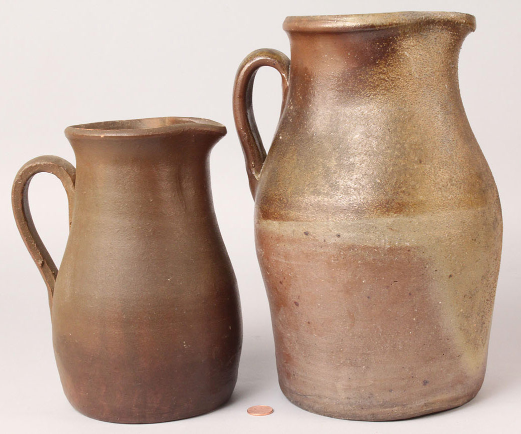 235: Two Middle TN Stoneware Pitchers