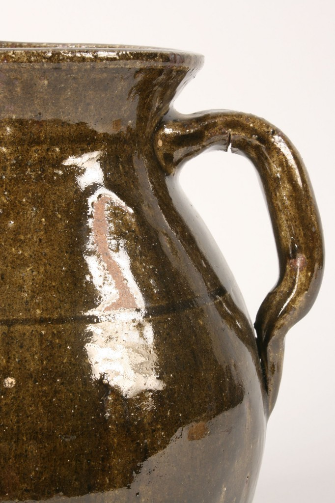 Lot 242: Large Lanier Meaders Pitcher