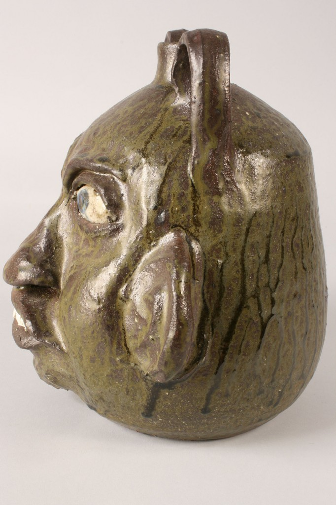 Lot 243: Chester Hewell Face Jug
