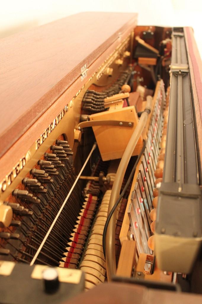 Lot 265: Kurtzmann Player Piano with Instrumentation
