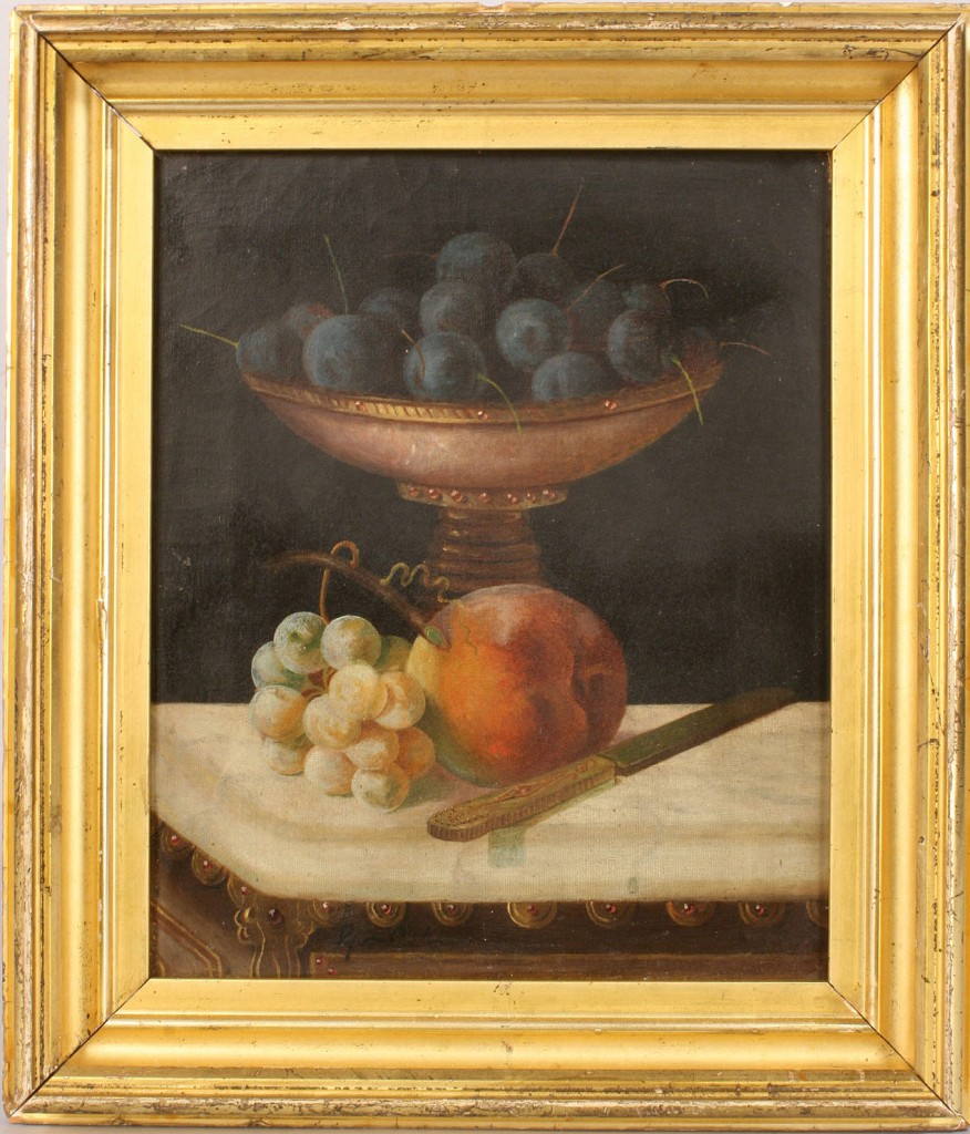 Lot 271: George Cope oil on canvas Still Life