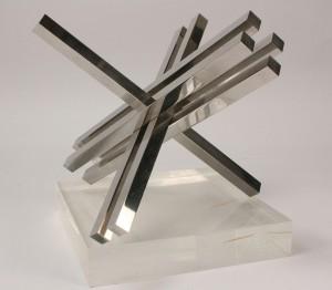 "Lot 273: Max Bill ""Doublement"" sculpture, 84/200"
