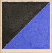 274: Ellsworth Kelly, colored paper image XV (dark gray
