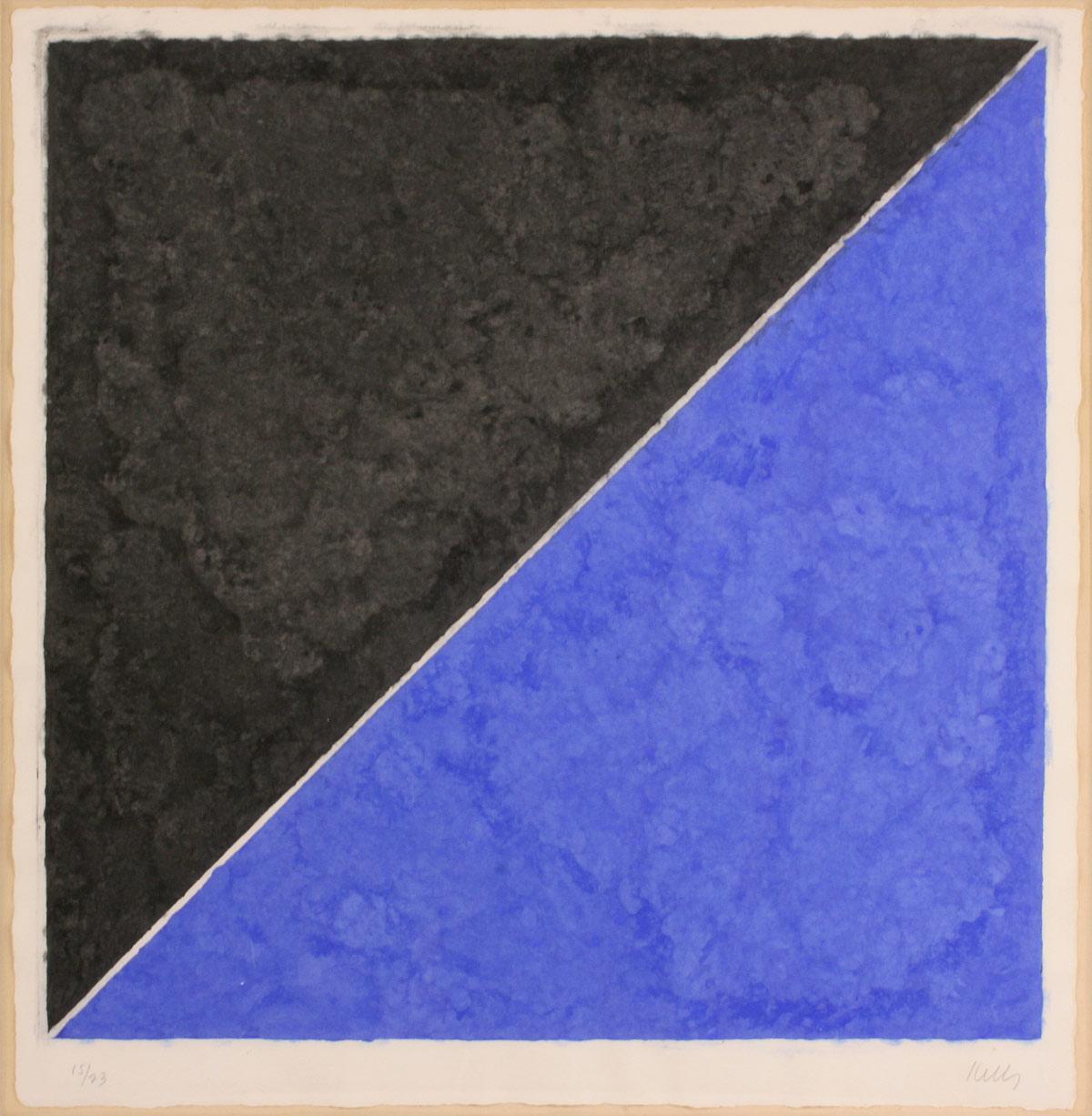 Lot 274: Ellsworth Kelly, colored paper image XV (dark gray