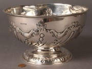 292: English Sterling Silver Fruit Bowl