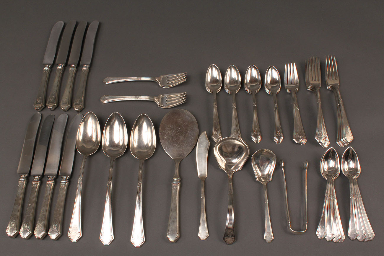303: Towle Sterling Flatware, Lady Mary, 56 pcs.