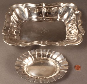 Lot 313: Sterling Hollowware, Reed & Barton and Wallace