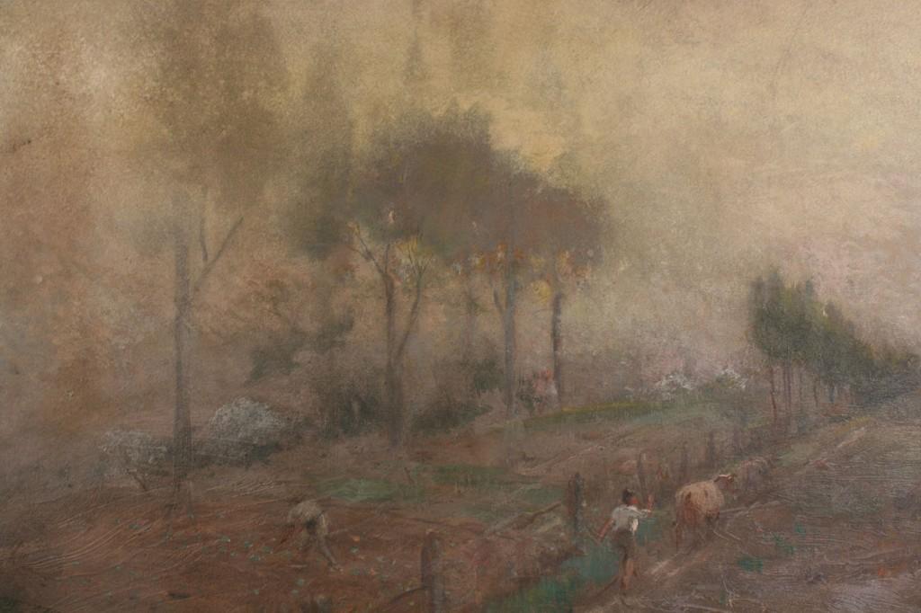 Lot 31: Lloyd Branson Oil on board landscape