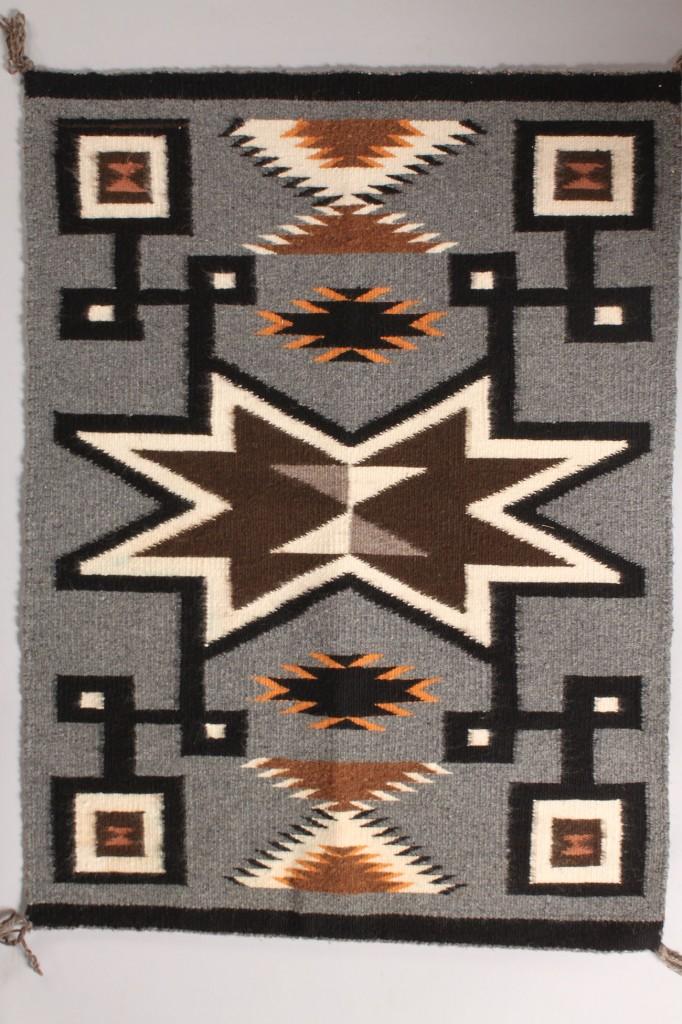 Lot 330: Lot of 2 Native American Navajo Rugs
