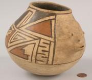 354: Southwest Indian Acoma effigy jar