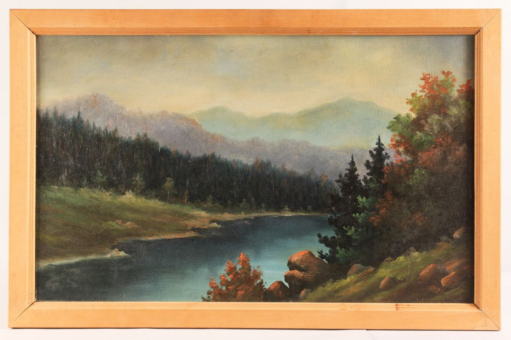 Lot 378: William Freeland McCaulley, Little Pigeon River oi