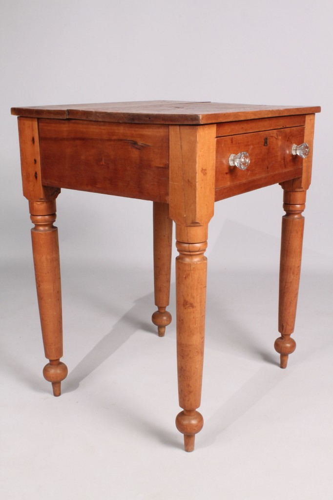 Lot 38: Middle TN Cherry One Drawer Stand