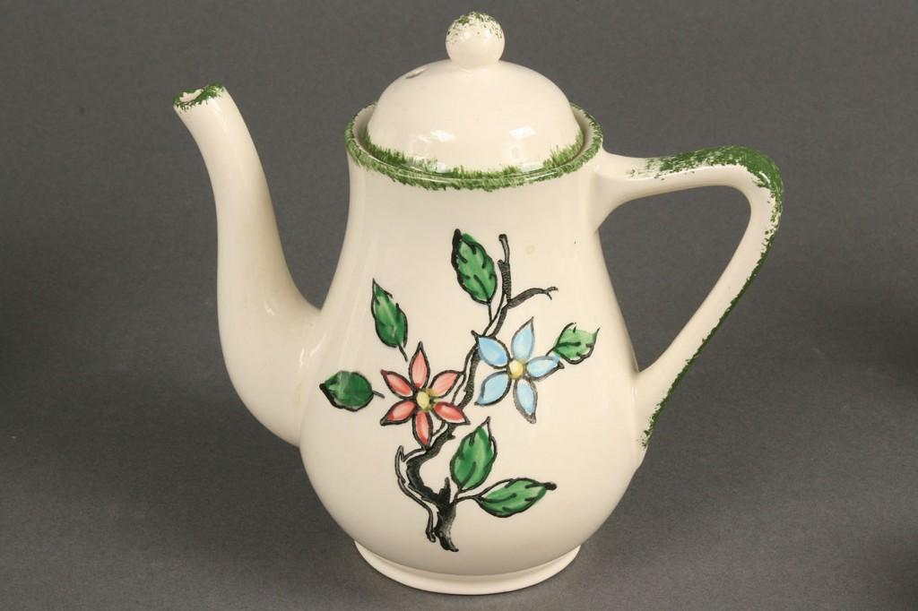 Lot 396: Blue Ridge childs tea set, flowering branch patter