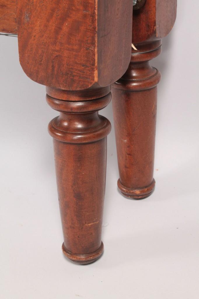 Lot 39: Middle TN Walnut tall post bed