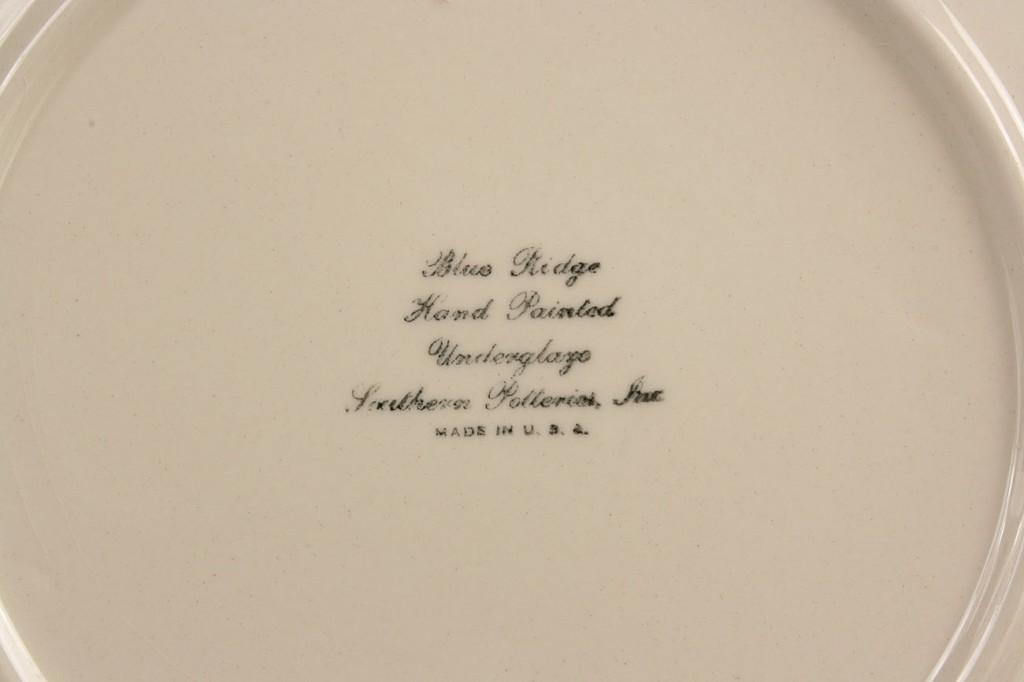 Lot 410: 4 pcs Blue Ridge and Clinchfield Lee plate