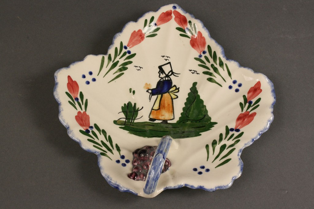 "Lot 412: Blue Ridge Porcelain, ""French Peasant"" pattern, 19"