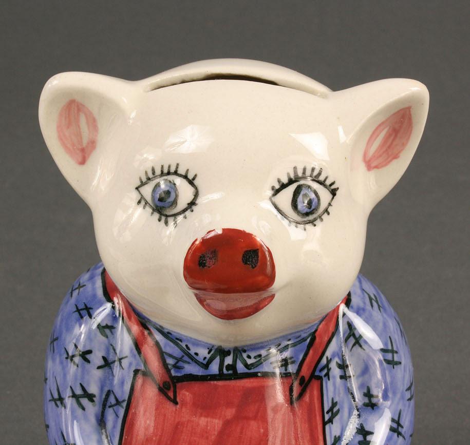 Lot 415: Blue Ridge Porcelain children's items, 5 pieces