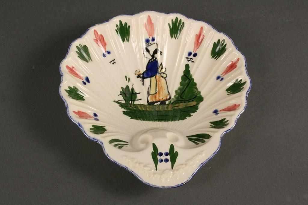 "Lot 418: Blue Ridge Porcelain, ""French Peasant"" pattern, 29"