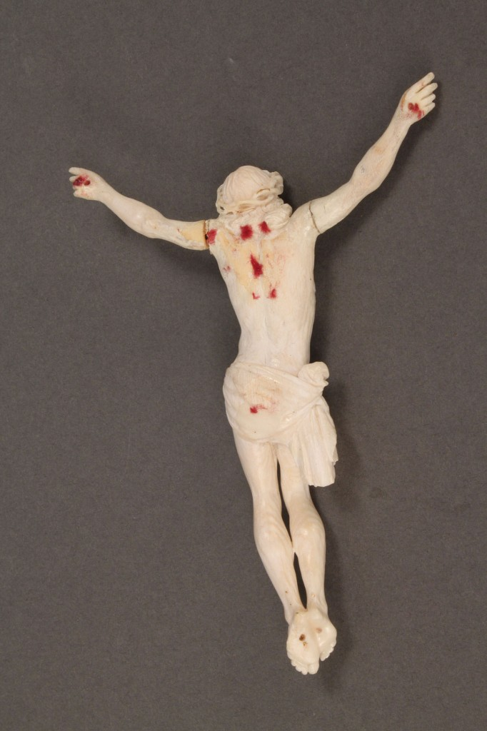 Lot 427: Carved Ivory Crucifix