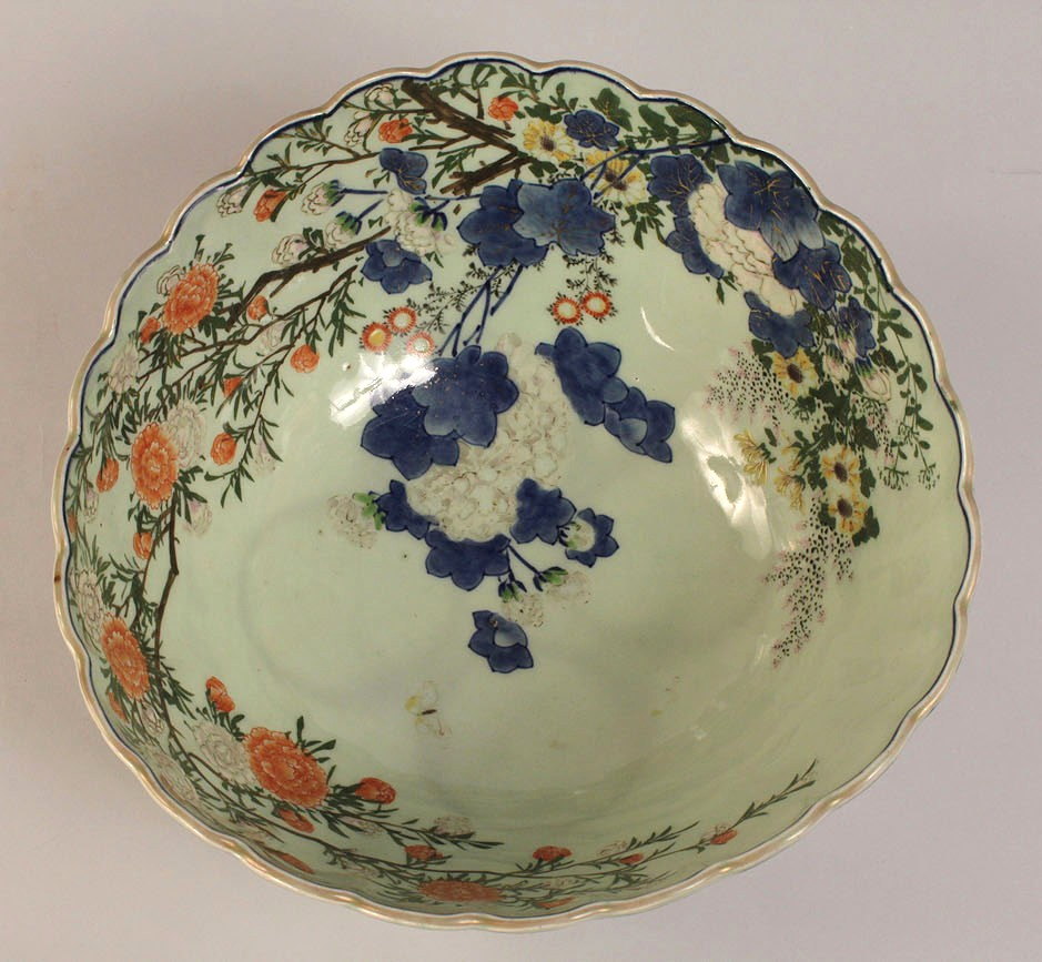 Lot 435: Japanese Porcelain Bowl, 1893 World's Fair Chicag