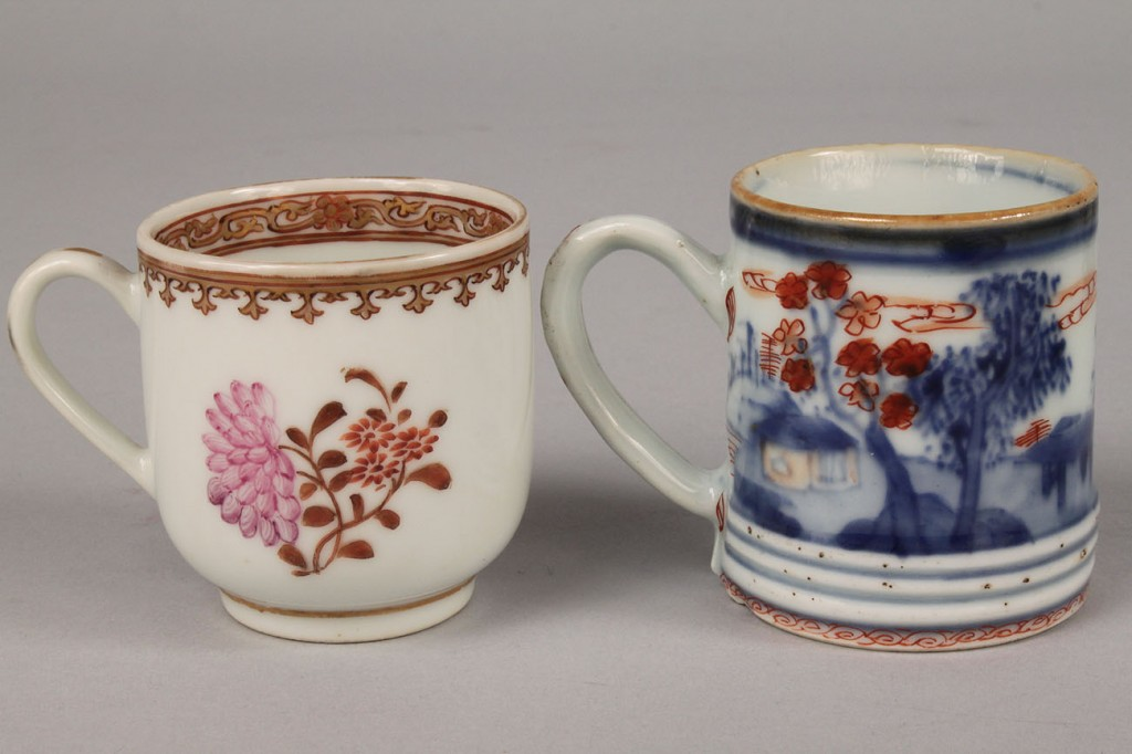 Lot 440: 5 Chinese Export Porcelain Items