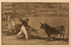 Lot 452: Aquatint Etching after Francisco de Goya
