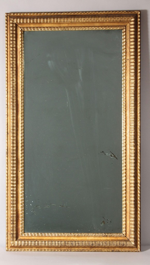Lot 467: Giltwood framed Mirror