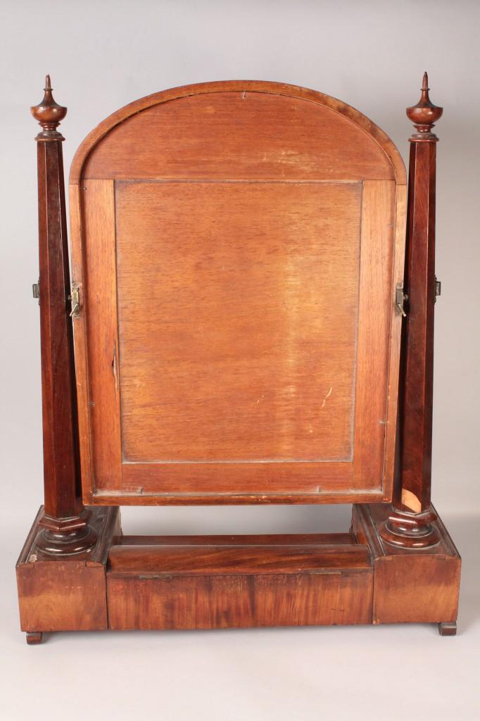 Lot 469: Classical Period Dressing Glass