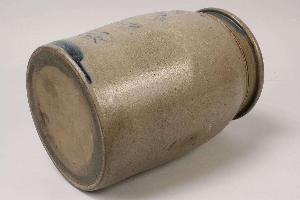 Lot 484: Pennsylvania Stoneware Jar, Hamilton & Jones