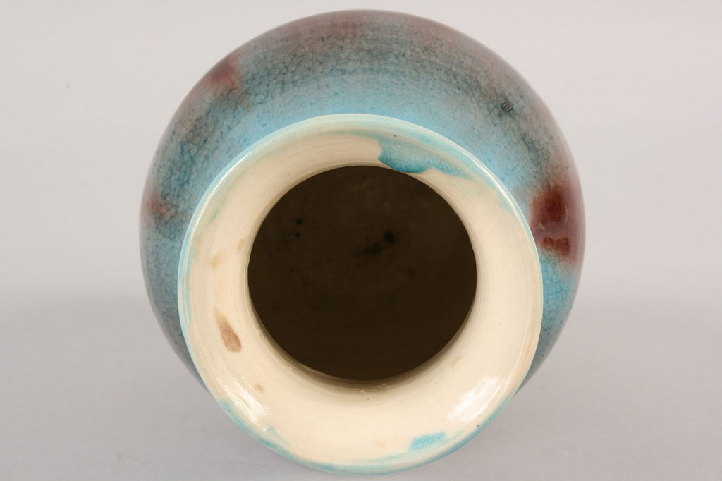 Lot 488: Pisgah Forest Vase and Plate