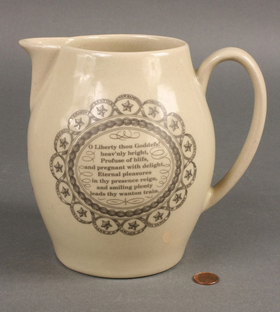 Lot 495: Pigeon Forge Pottery UT pitcher sgd Douglas Fergus