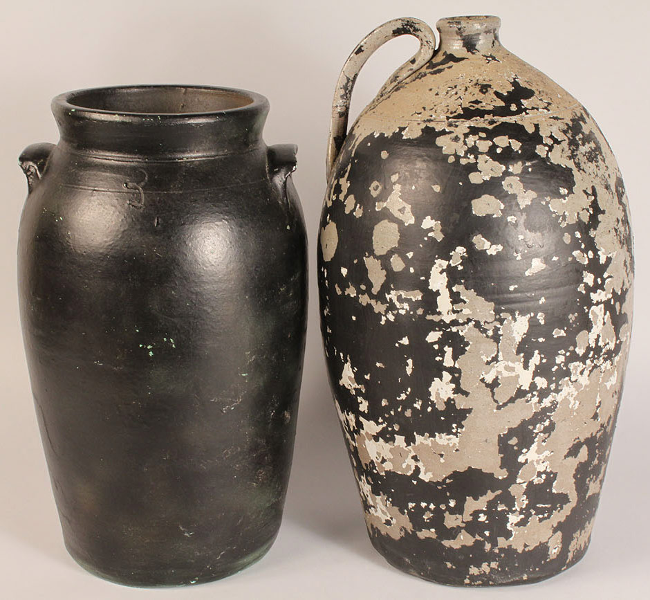 Lot 497: Lot of 2 Middle TN Pottery items